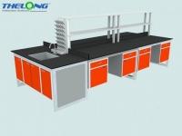 Bàn thí nghiệm trung tâm khung vuông TL-BTN-02