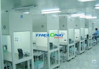 Phòng sạch cho sản xuất lắp ráp tủ cấy, tủ an toàn sinh học