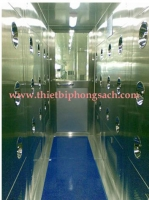 air shower cho phòng xét nghiệm